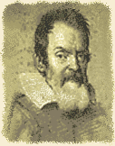 Sketch of Galileo Galilei